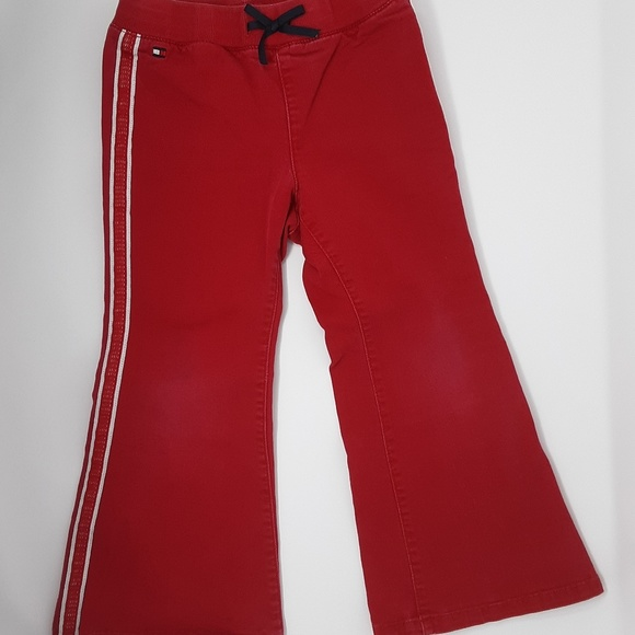 Tommy Hilfiger Other - Tommy Hilfiger Red Pants Girl's 4 / 4T